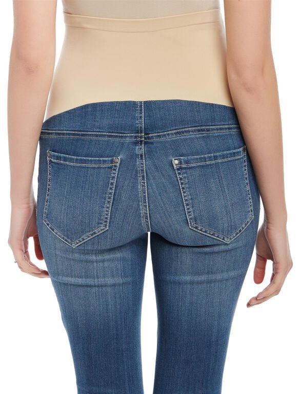 Secret Fit Belly Skinny Jegging Maternity Jeans, Medium Wash