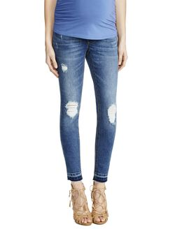 Jessica Simpson Secret Fit Belly Straight Leg Maternity Jeans, Vintage Wash