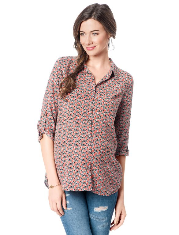 Splendid Maternity Shirt, Sienna