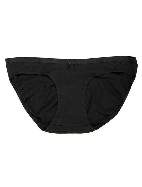 Bikini Maternity Panty (single), Black