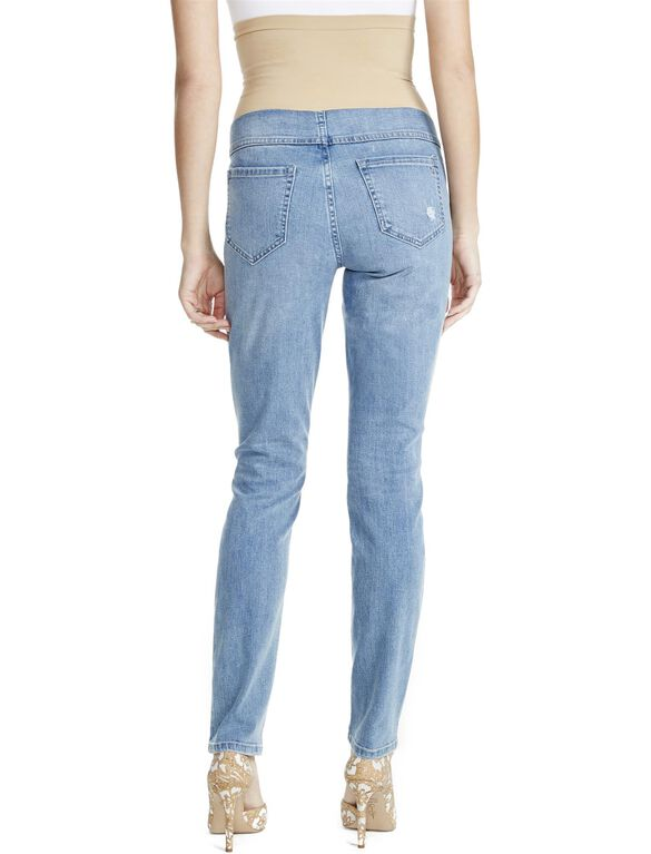 Jessica Simpson Secret Fit Belly Jegging Maternity Jeans, Light Wash