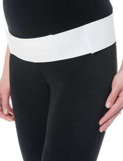 The Ultimate Maternity Belt, White