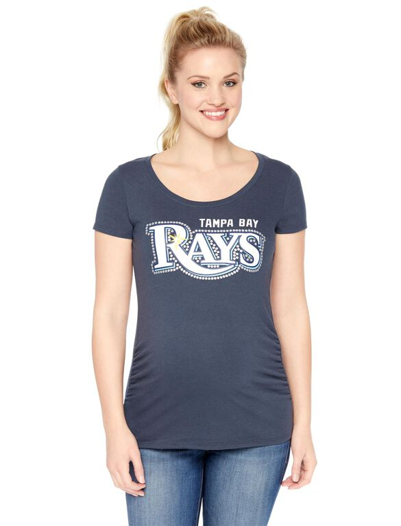 Tampa Bay Rays MLB Short Sleeve Maternity Tee, Rays