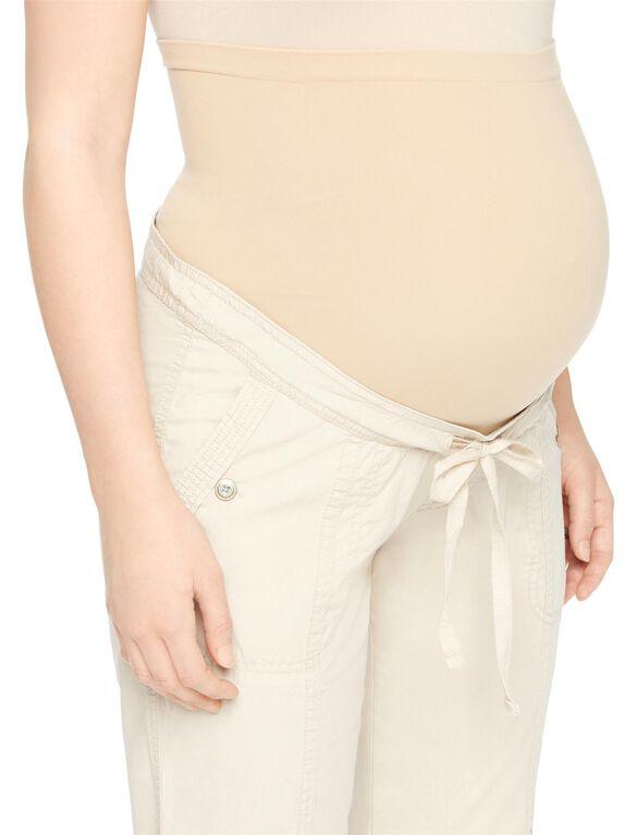 Secret Fit Belly Cargo Straight Maternity Pants, Khaki