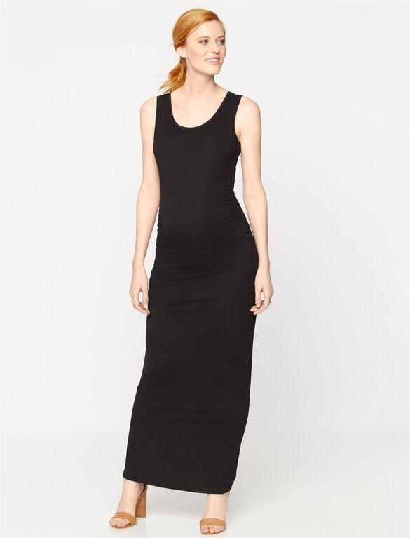 Isabella Oliver Lisle Maternity Maxi Dress, Black