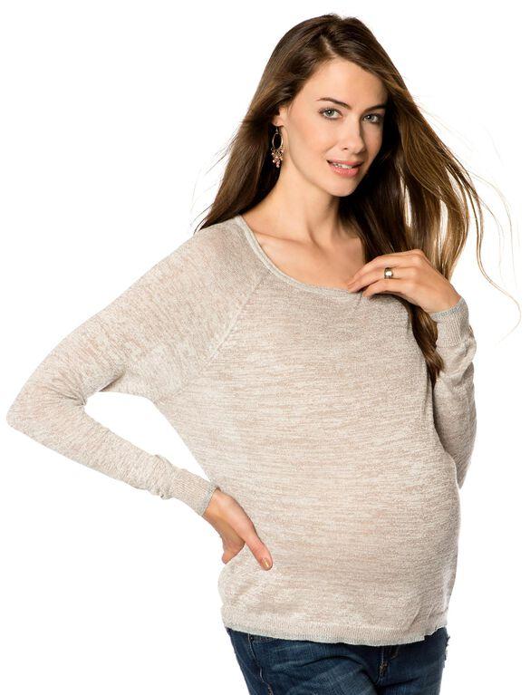 Lightweight Maternity Top, Blush