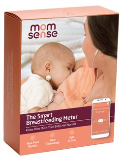 Momsense Smart Breastfeeding Monitor, Breastfeeding Monitor