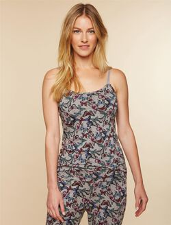 Clip Down Nursing Cami- Butterfly Print, Butterfly Print