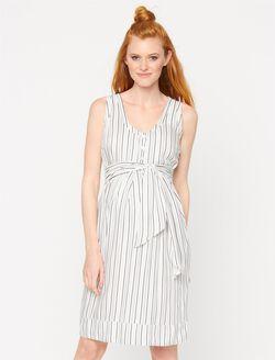 Isabella Oliver Burnell Maternity Dress, Multi Stripe