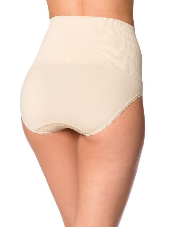Scott Specialties Rib Knit Post Pregnancy Shaper (single), Nude