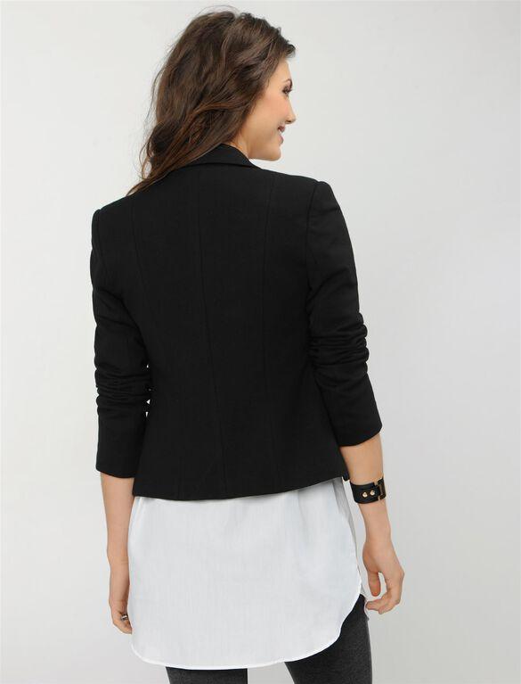 Isabella Oliver Alden Maternity Blazer, Caviar Black
