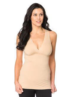 Bounceback Post Pregnancy Support Nursing Cami, Nude