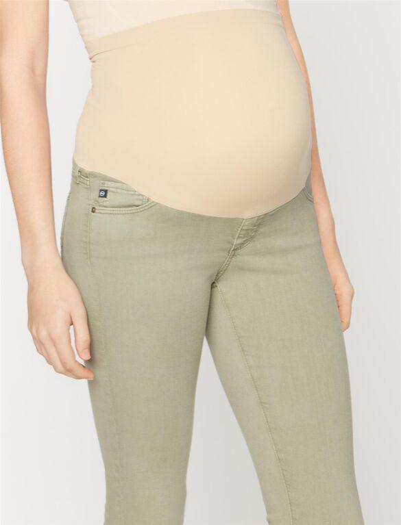 Ag Jeans Secret Fit Belly Maternity Pants, Olive