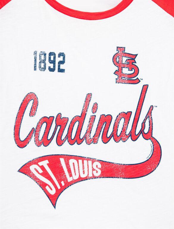 St. Louis Cardinals MLB Raglan Sleeve Maternity Tee, Cardinals