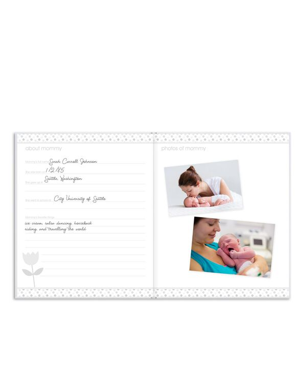 Pearhead Baby Book, Baby Book