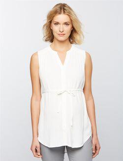 Ripe April Nursing Tunic, White