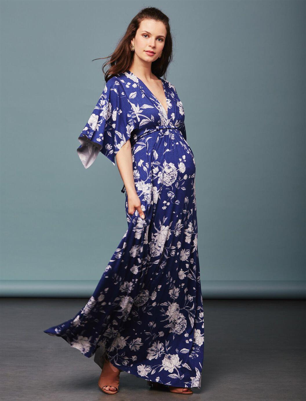Rachel pally caftan maternity maxi dress peony print rachel pally caftan maternity maxi dress peony print seaside peony print ombrellifo Images