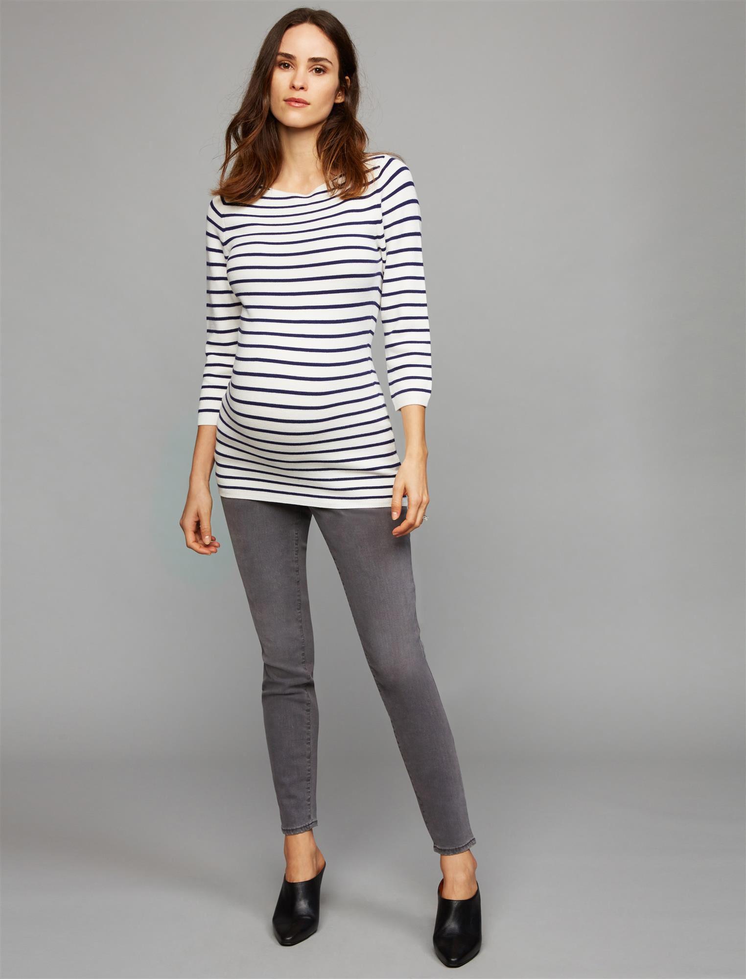 Luxe Essentials Denim Secret Fit Belly Skinny Leg Maternity Jeans