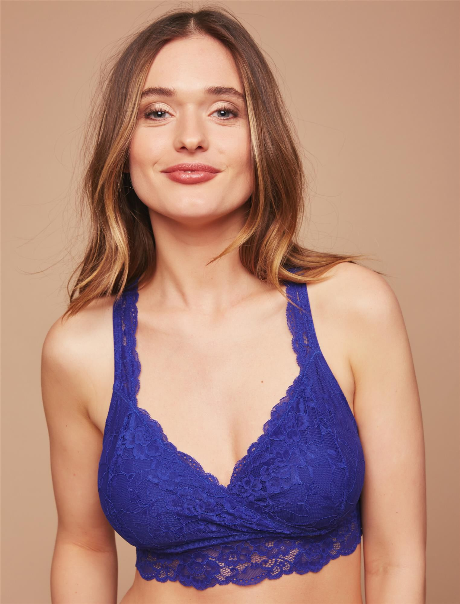 Lace Racerback Nursing Sleep Bra