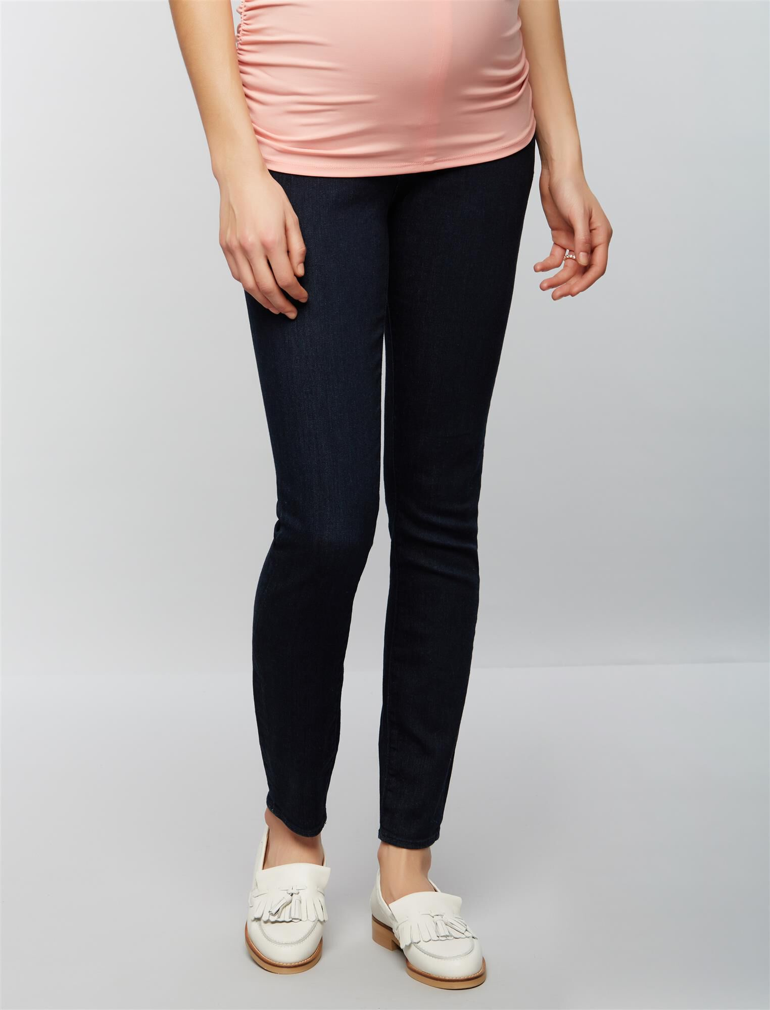Articles Of Society Secret Fit Belly Sarah Maternity Jeans- Dark Wash