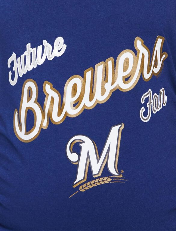 Milwaukee Brewers MLB Future Fan Maternity Tank, Brewers Navy