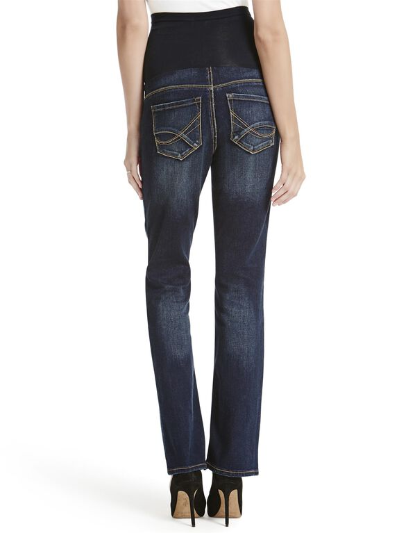 Jessica Simpson Secret Fit Belly Skinny Boot Maternity Jeans, Dark Wash
