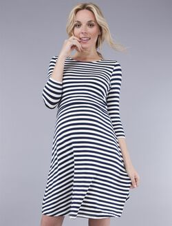 Seraphine Nadia Nursing Dress, Stripe