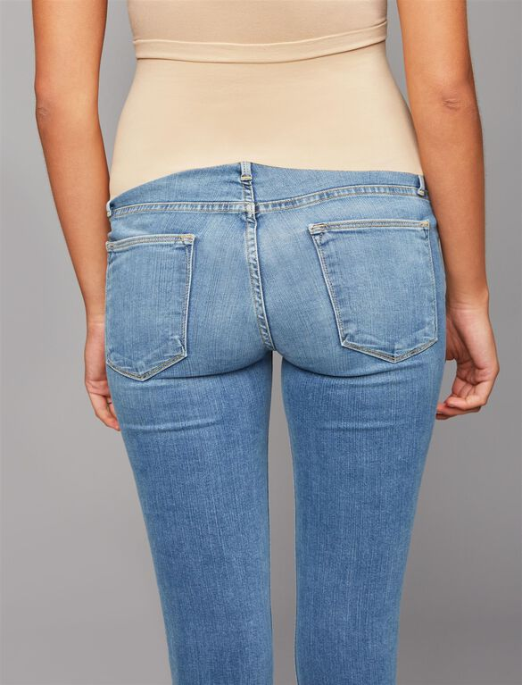 Frame Secret Fit Belly Skinny Leg Maternity Jeans, Light Wash