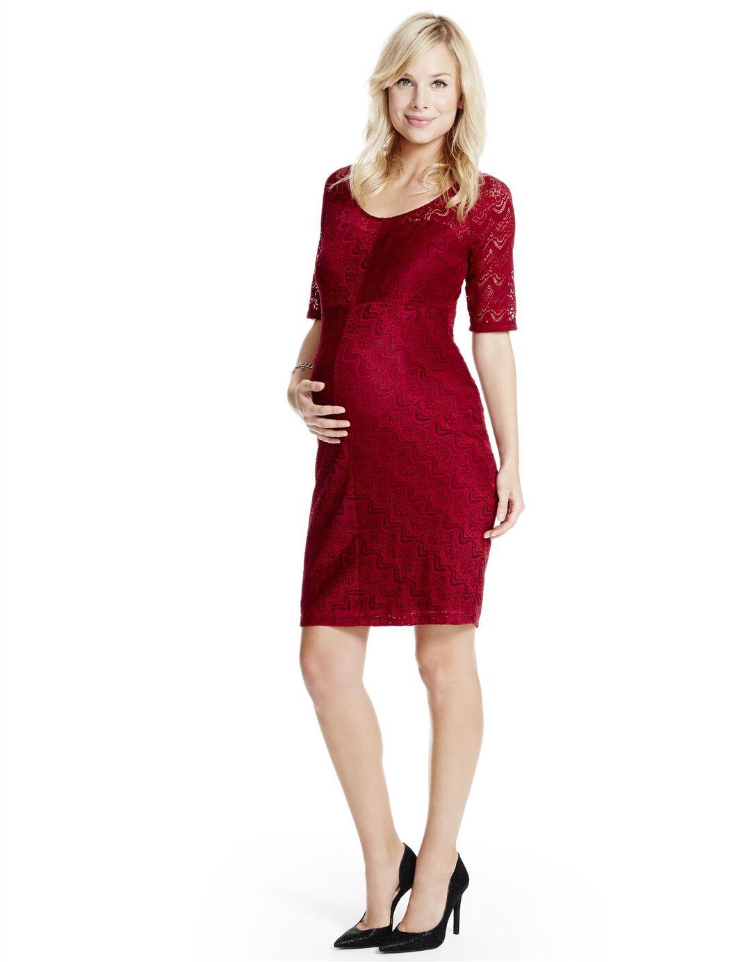 Jessica simpson lace maternity dress motherhood maternity jessica simpson lace maternity dress burgundy ombrellifo Gallery