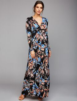 Rachel Pally Caftan Maternity Maxi Dress, Folklore Print