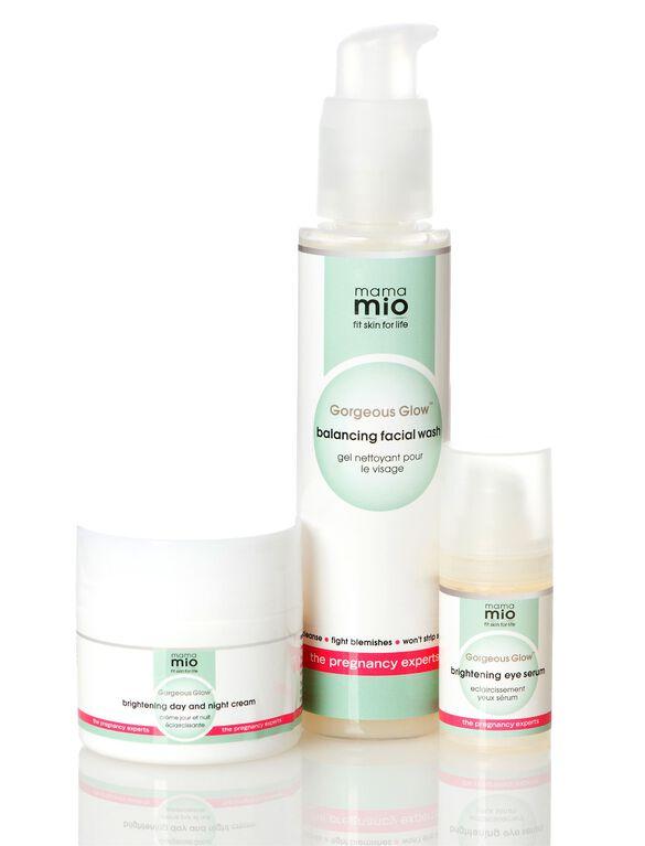 Mama Mio Gorgeous Glow 3 Step Skincare System, Gorgeous Glow