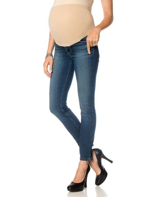 Paige Denim Secret Fit Belly Skinny Maternity Ankle Jeans, Easton - Med Wash