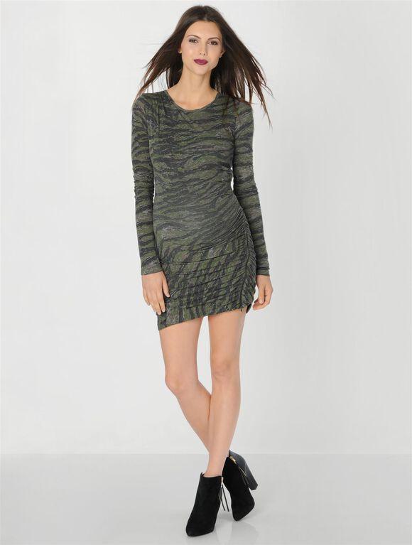 Maternity Dress, Camo