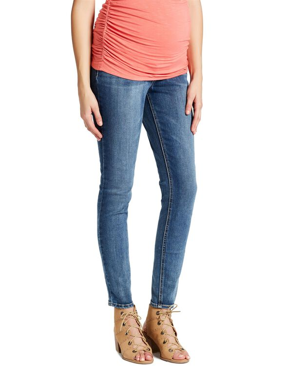 Maternity Jeans H&M MAMA Skinny Leg High Rib Women Size 6 Great Quality! Pre-Owned. $ or Best Offer. Old Navy Maternity Skinny Jeans Size 8 Long Dark Wash Blue Full Panel Stretch. Skinny Maternity Jeans. Feedback. Leave feedback about your eBay search experience.
