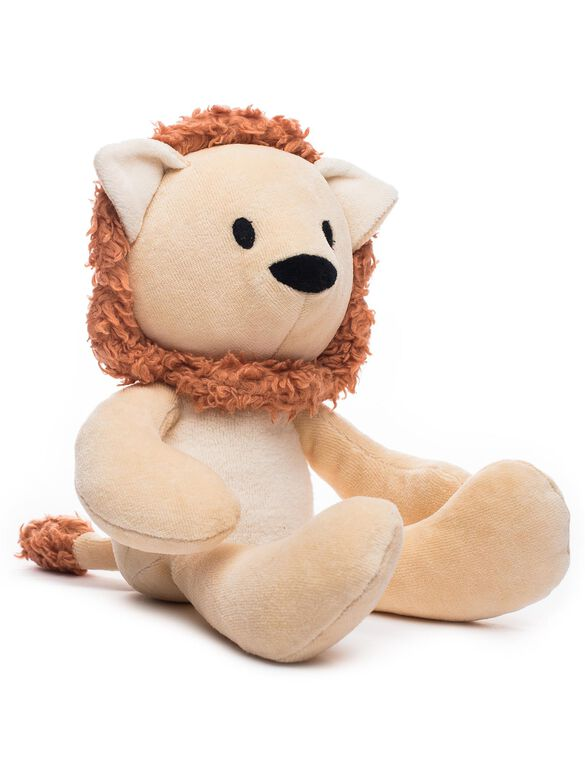 Bears For Humanity Organic Stuffed Lion, Lion