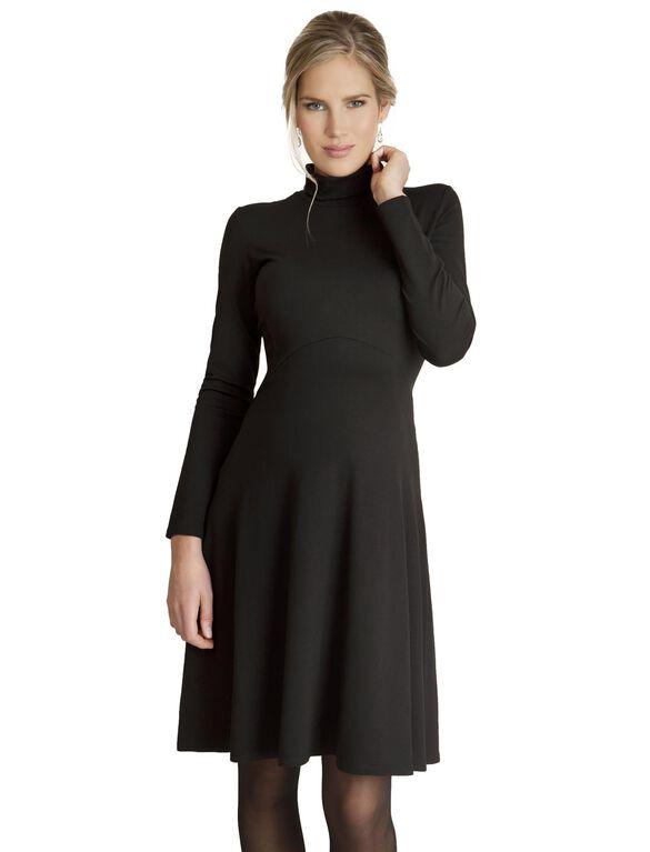 Seraphine Maternity Dress, Black