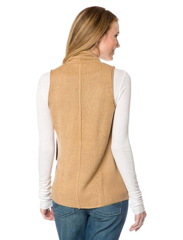 Cascade Maternity Sweater, Camel