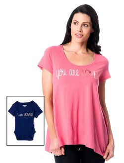 Bump In The Night(tm) Maternity Sleep Tee, You Are Loved