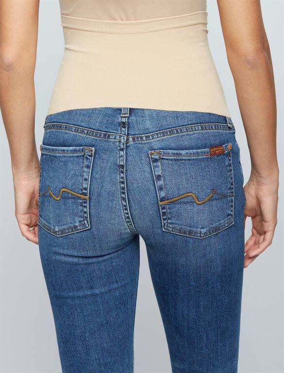 7 For All Mankind Secret Fit Belly Destructed Denim Skinny Maternity Jeans, Hyde Park