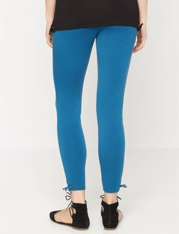 Rachel Zoe Secret Fit Belly Ponte Maternity Ankle Pants, Blue