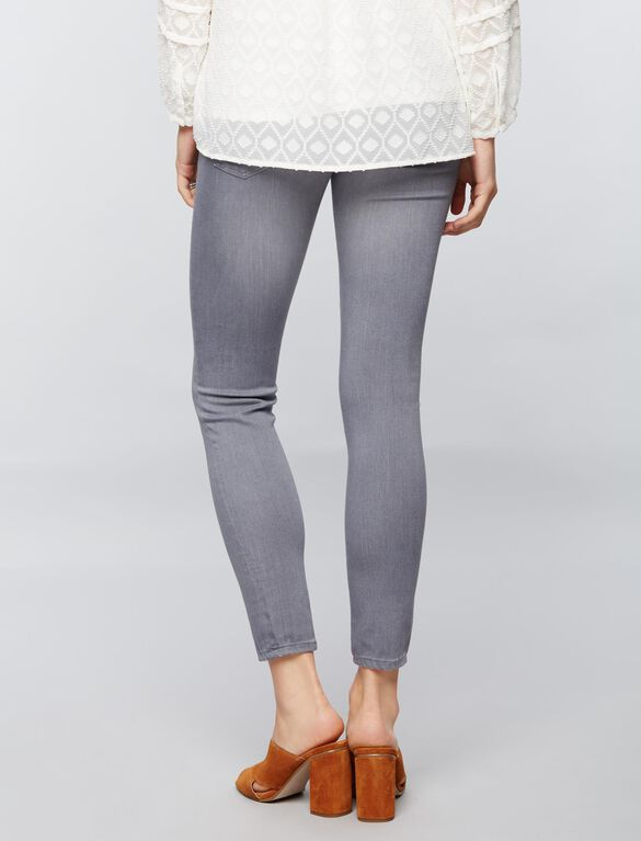 AG Jeans Secret Fit Belly Skinny Maternity Jeans-Grey, Light-mid Grey
