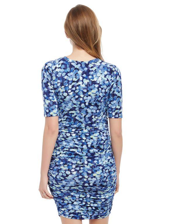Maternity Dress, Thumb Print
