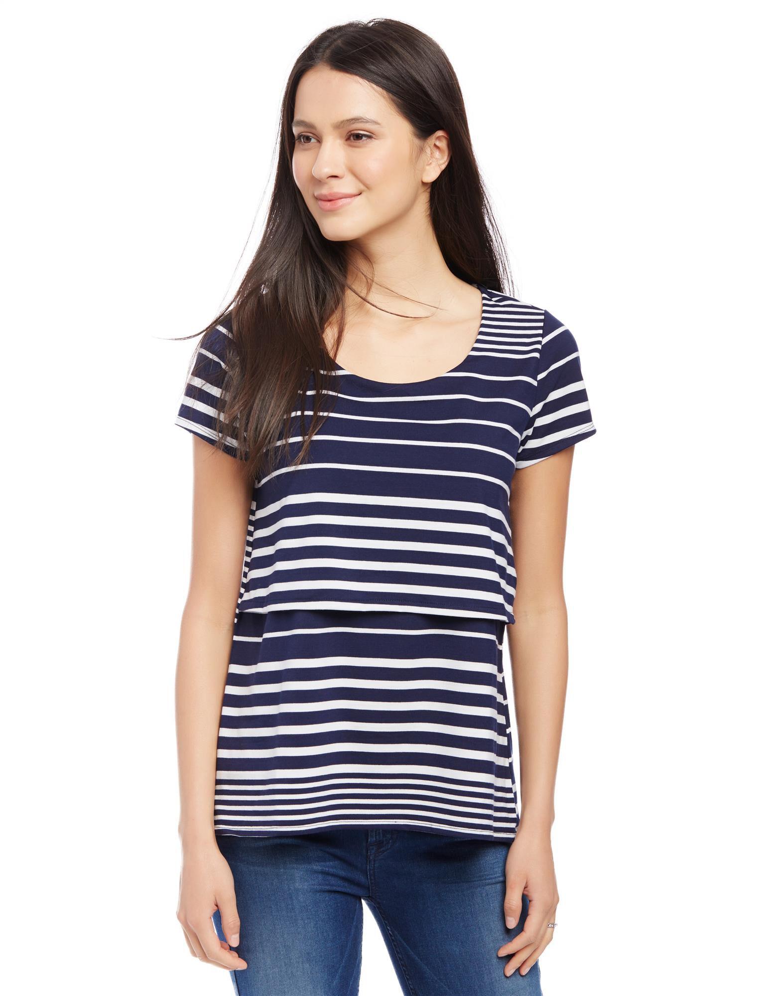 Lift Up Slim Fit Nursing Shirt