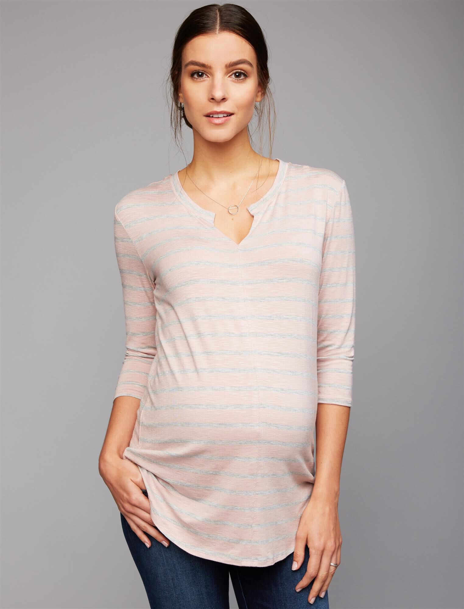 Relaxed Fit Maternity T Shirt