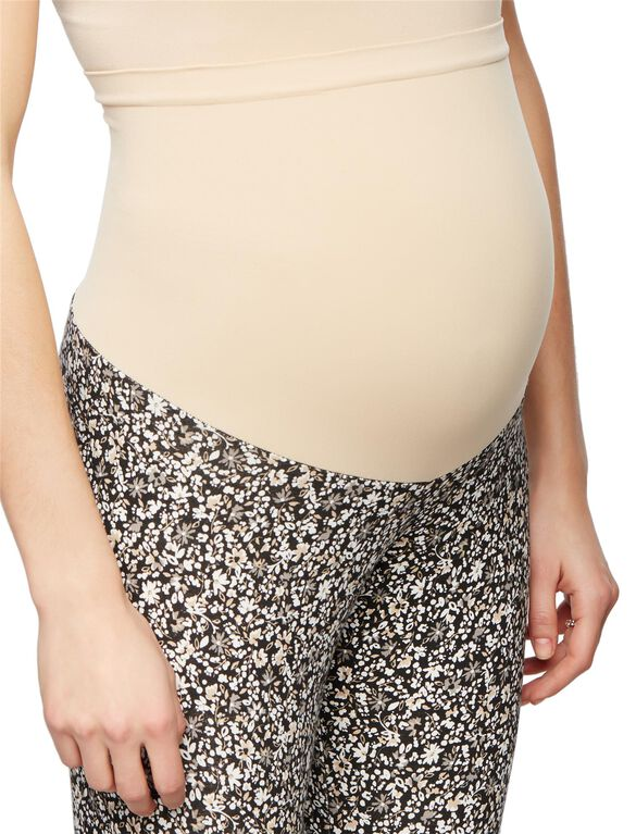 Secret Fit Belly Maternity Leggings- Ditsy Floral, Ditsy Floral