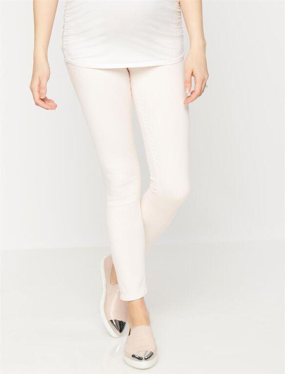 AG Jeans Secret Fit Belly The Legging Ankle Maternity Jeans, Light Pink