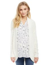 Super Soft Maternity Cardigan, Cream