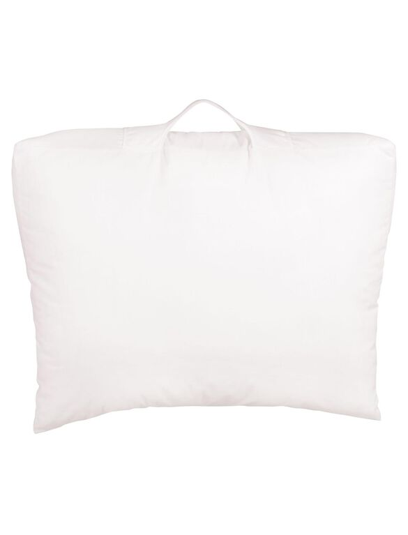 Snoogle Swankle Elevated Wedge Pillow, White