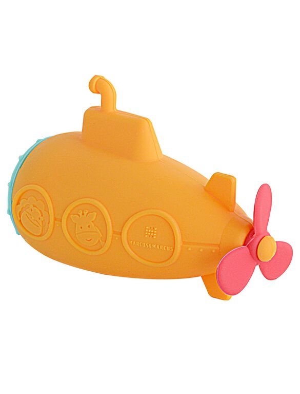 Marcus & Marcus Silicone Submarine Bath Toy, Submarine