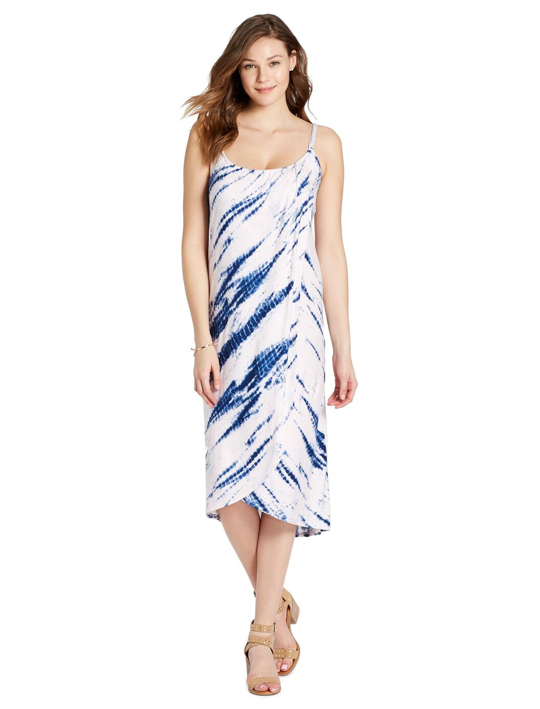 Jessica Simpson Tie Dye Nursing Dress at Motherhood Maternity in Victor, NY | Tuggl